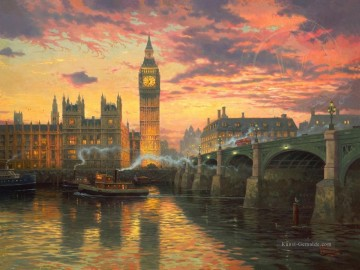 Thomas Kinkade Werke - London Thomas Kinkade