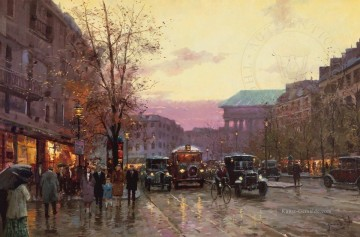 Thomas Kinkade Werke - Paris Twilight Thomas Kinkade