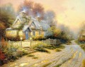 Teacup Cottage Thomas Kinkade