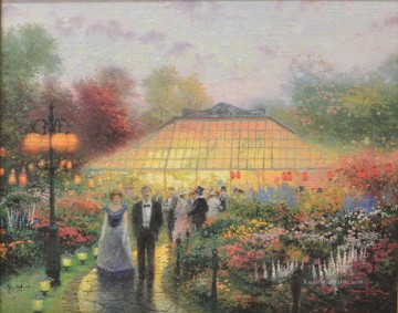 Thomas Kinkade Werke - The Garden Party Thomas Kinkade
