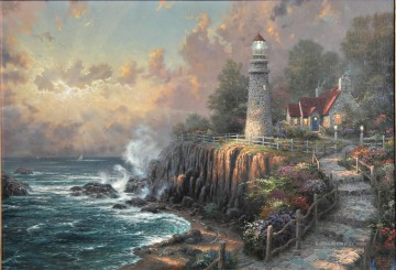 Thomas Kinkade Werke - The Light Of Peace Thomas Kinkade