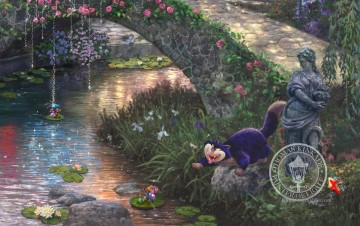 Thomas Kinkade Werke - Cinderella Wishes part3 Thomas Kinkade