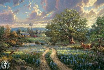 Thomas Kinkade Werke - Country Living Thomas Kinkade