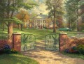 Graceland 50th Anniversary Thomas Kinkade