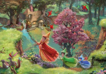 Thomas Kinkade Werke - Disney Dreams part Thomas Kinkade
