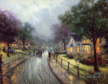Thomas Kinkade Werke - Hometown Memories Thomas Kinkade