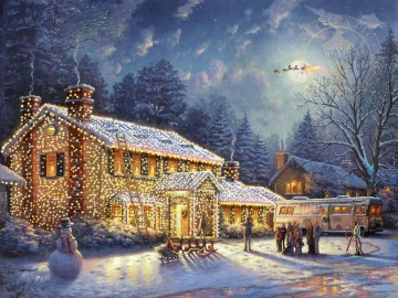 Thomas Kinkade Werke - National Lampoon Weihnachten Urlaub Thomas Kinkade