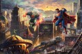 Superman Mann aus Stahl Hollywood Film Thomas Kinkade