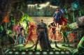 DIE JUSTICE LEAGUE Hollywood Film Thomas Kinkade