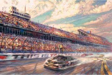 Thomas Kinkade Werke - This Is Talladega Thomas Kinkade