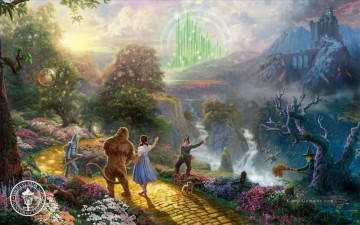 Thomas Kinkade Werke - Dorothy Discovers the Emerald City Thomas Kinkade