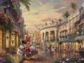 Minnie rockt die Punkte am Rodeo Drive Thomas Kinkade