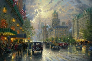 Thomas Kinkade Werke - New York 5th Avenue Thomas Kinkade