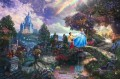 Cinderella Wishes Upon A Dream Thomas Kinkade