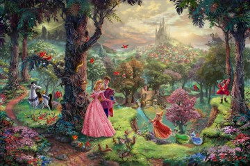 Thomas Kinkade Werke - Disney Dreams Thomas Kinkade