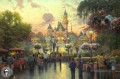 Disneyland 50th Anniversary Thomas Kinkade