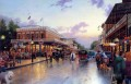 Main Street Celebration Thomas Kinkade