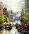 San Francisco California Street Thomas Kinkade