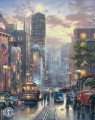San Francisco Powell Street Thomas Kinkade