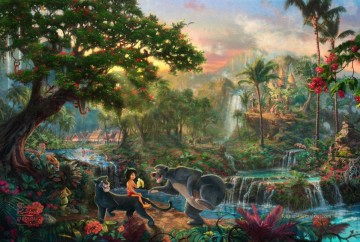 Thomas Kinkade Werke - The Jungle Book Thomas Kinkade