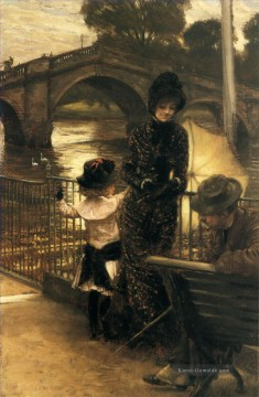 Thames Künstler - von der Themse in Richmond James Jacques Joseph Tissot