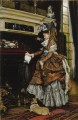 La cheminee James Jacques Joseph Tissot