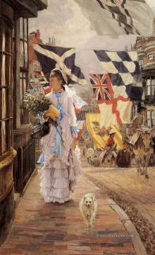 eine Fete Tag in Brighton James Jacques Joseph Tissot Ölgemälde