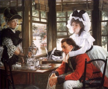 Bad News James Jacques Joseph Tissot Ölgemälde