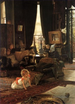 Hide and Seek James Jacques Joseph Tissot Ölgemälde