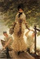 an der Themse James Jacques Joseph Tissot