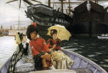 Jacques Galerie - Portsmouth Dockyard James Jacques Joseph Tissot