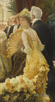 Der Ball James Jacques Joseph Tissot Ölgemälde