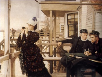 Die Captains Tochter James Jacques Joseph Tissot Ölgemälde