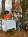 Un Dejeuner James Jacques Joseph Tissot