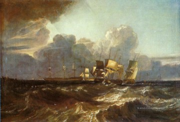 Meer Kunst - Schiffe Bearing für Anchorage aka The Piece Egremont Meer Landschaft Turner