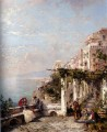 Die Amalfi Kuste The Amalfi Coast Szenerie Franz Richard Unterberger