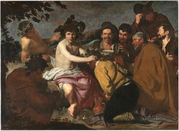 Los Borrachos The Triumph of Bacchus Diego Velázquez Ölgemälde