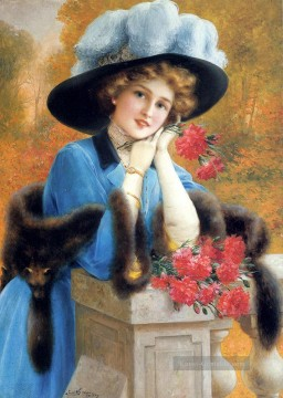 Carnations Are For Love girl Emile Vernon