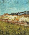 At the Foot of the Berge Vincent van Gogh