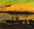 Coal Barges 2 Vincent van Gogh