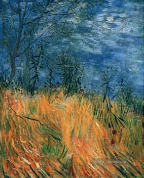 Vincent Van Gogh Werke - Edge of a Wheatfield with Poppies Vincent van Gogh