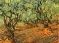 Olive Grove Bright Blue Sky 2 Vincent van Gogh