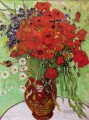 Red Poppies and Daisies Vincent van Gogh