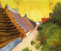 Straße in Saintes Maries Vincent van Gogh