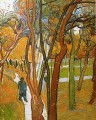 The Walk Falling Leaves Vincent van Gogh