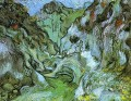 The gully Peiroulets Vincent van Gogh