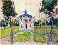 Auvers Rathaus in 14 Juli 1890 Vincent van Gogh