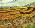 Field and Ploughman and Mill Vincent van Gogh