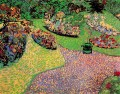 Garden in Auvers Vincent van Gogh