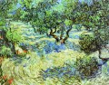 Olive Grove Bright Blue Sky Vincent van Gogh